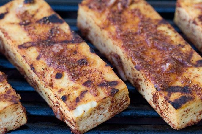 Lemon Achiote Grilled Tofu