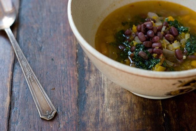 Adzuki Butternut Squash Soup