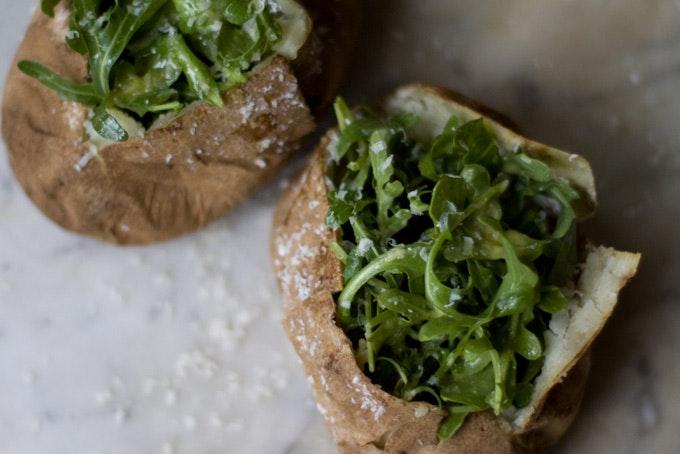 Sea Salt Baked Potatoes recipe