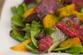 Roasted Beet and Blood Orange Salad with Spicy Greens recipe