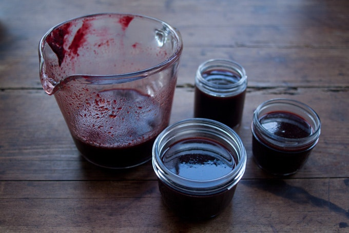 Chile Blackberry Syrup