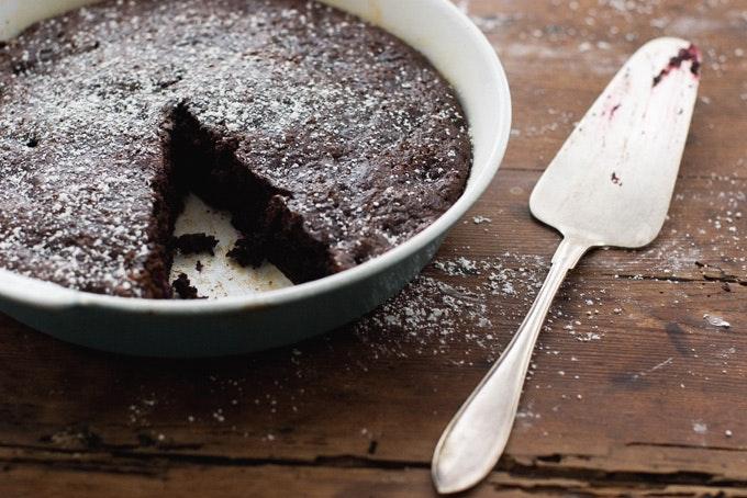 Gourmet Magazine Chocolate Zucchini Cake