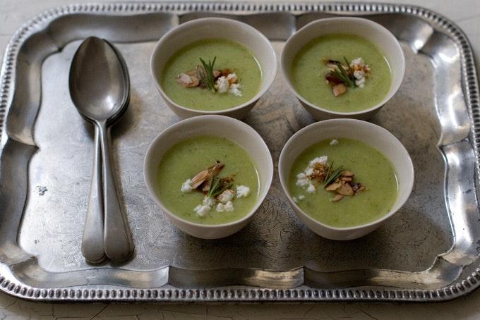 Buttermilk Summer Squash Soup