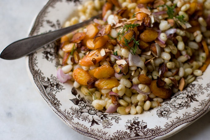 Carrot, Dill & White Bean Salad recipe