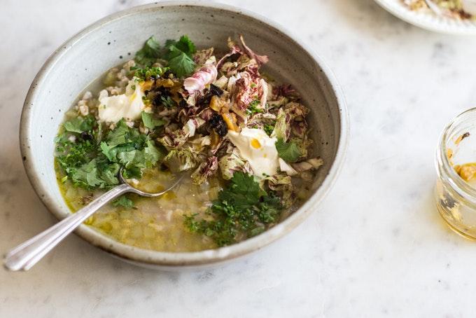 Chicory Soup & Camino Photos