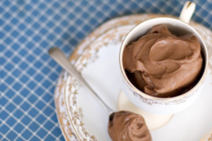 Amaretto-spiked Chocolate Mousse