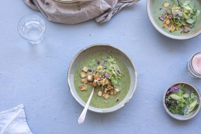 Coconut Broccoli Soup