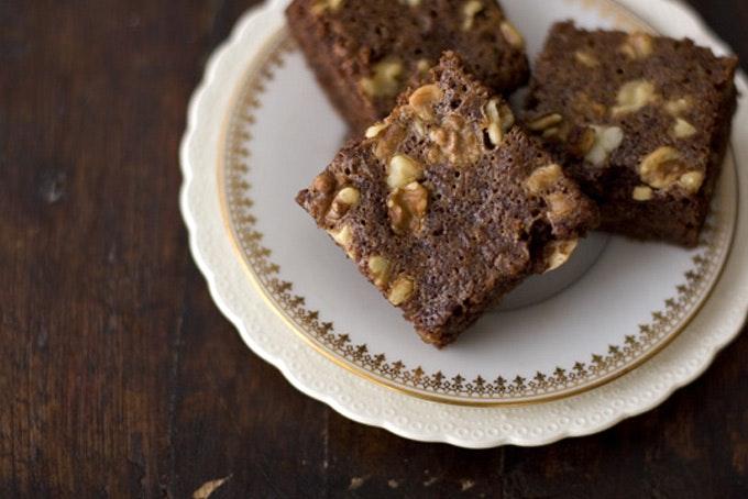 Moosewood Fudge Brownies