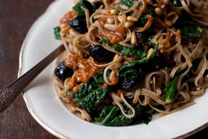 Harissa Spaghettini Recipe - 101 Cookbooks