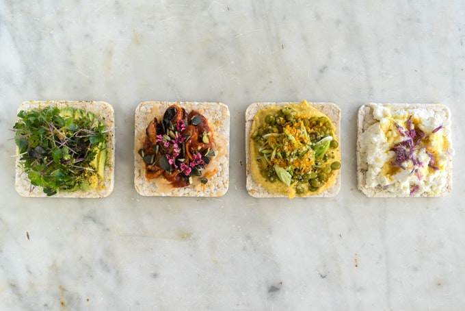 A Week of Putting Things on Rice Cakes