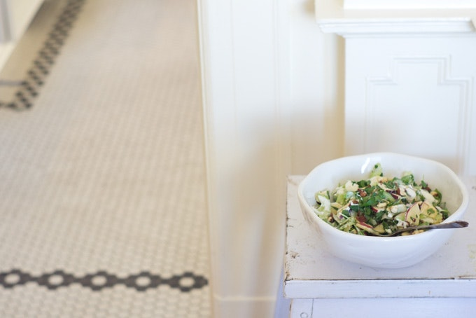 Heirloom Apple Salad recipe