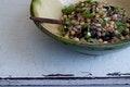 Honey Balsamic Bean Salad recipe