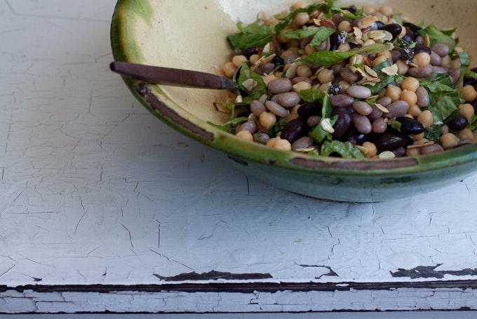 Honey Balsamic Bean Salad
