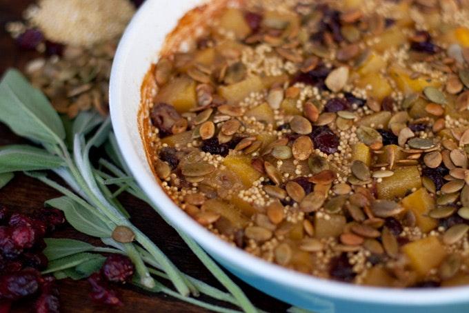Mark Bittman's Autumn Millet Bake