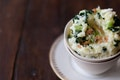 Kale and Olive Oil Mashed Potatoes recipe