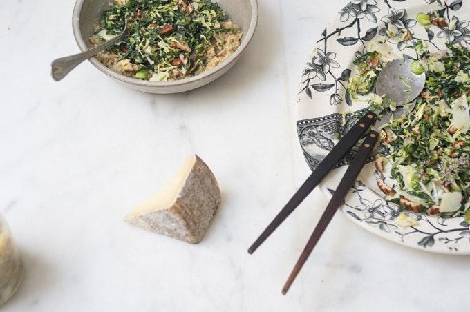 Lacinato Kale and Pecorino Salad