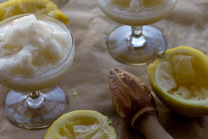Lemon Anise Slush