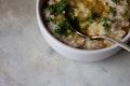 Farro and Millet Risotto recipe