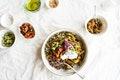 At The Studio: Mung Quinoa Power Bowl recipe