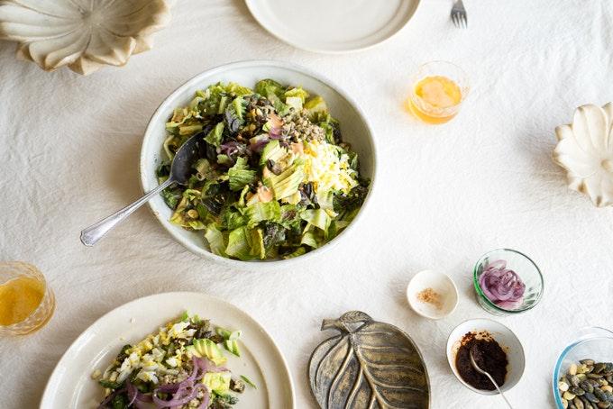 At The Studio: Pilpelchuma Salad