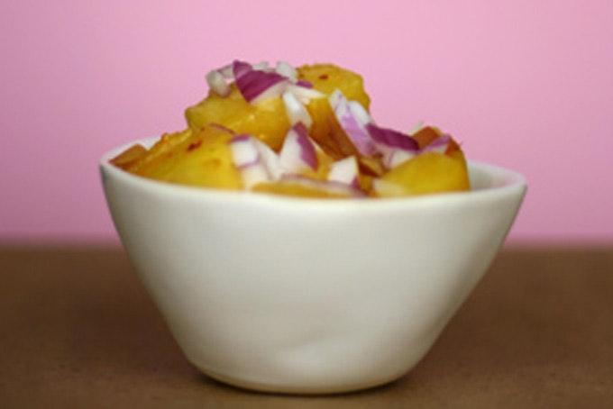 Spicy Pineapple Saute