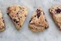 Whole Wheat Blackberry Ricotta Scones recipe