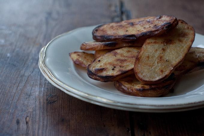 Grilled Salt & Vinegar Potatoes