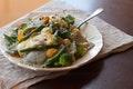 Sesame Yogurt Pasta Salad recipe