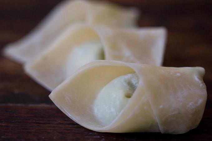 Plump Pea Dumplings