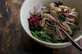 Walnut Miso Noodles recipe