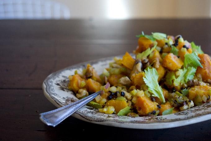 Roasted Winter Squash Salad