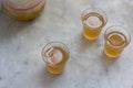 Yuzu Maple Leaf Cocktail recipe