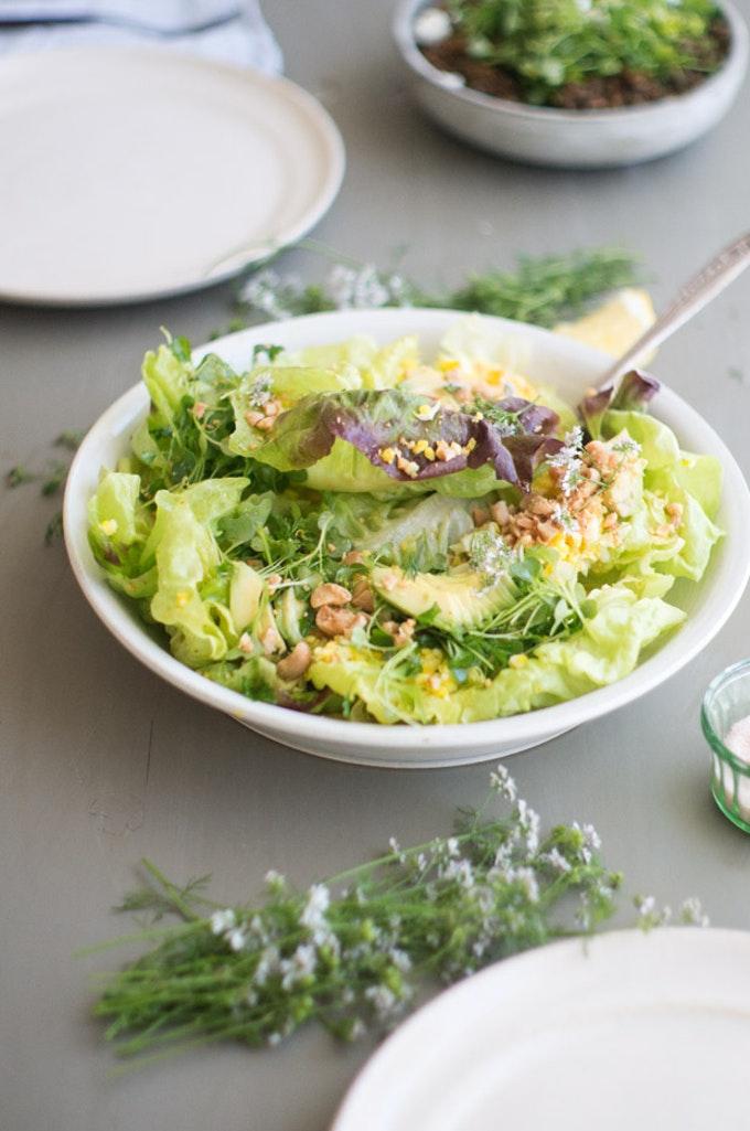 Blue Kale Studio Salad