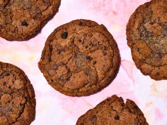 Favorite Rye Blueberry Cookies