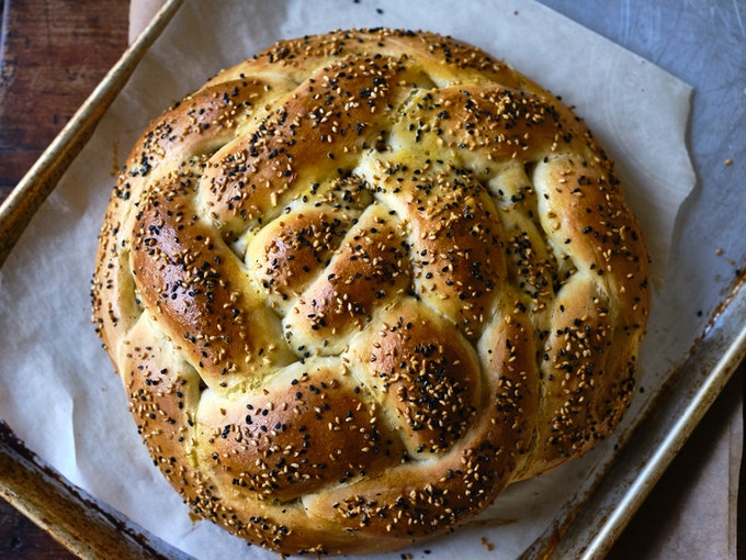 Braided Onion Bread