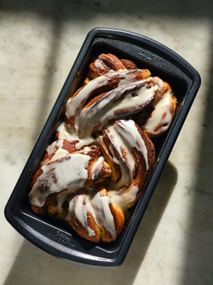 Cinnamon Roll Swirl Loaf