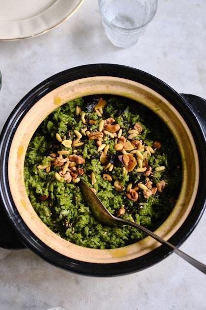 Bryant Terry's Amazing Green Rice