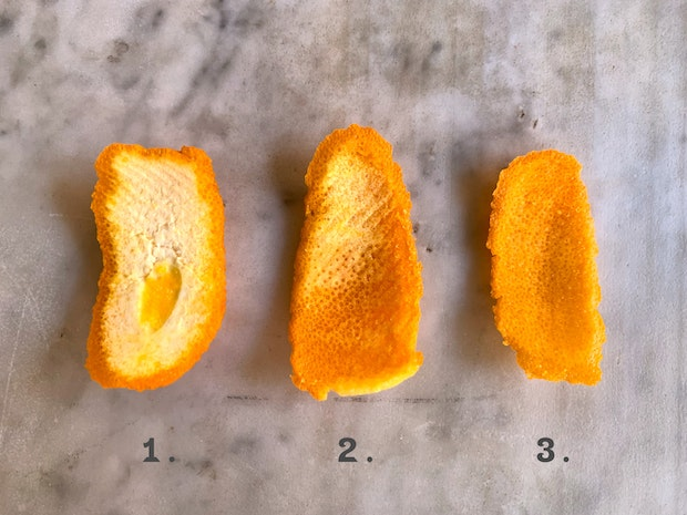 How To Peel Citrus