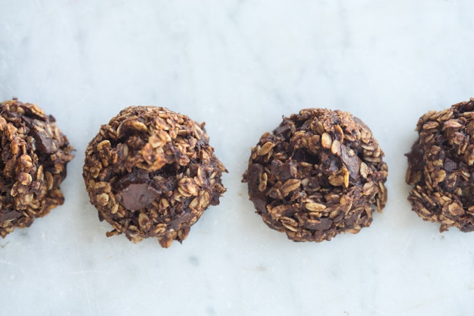 Healthful Double Chocolate Cookies