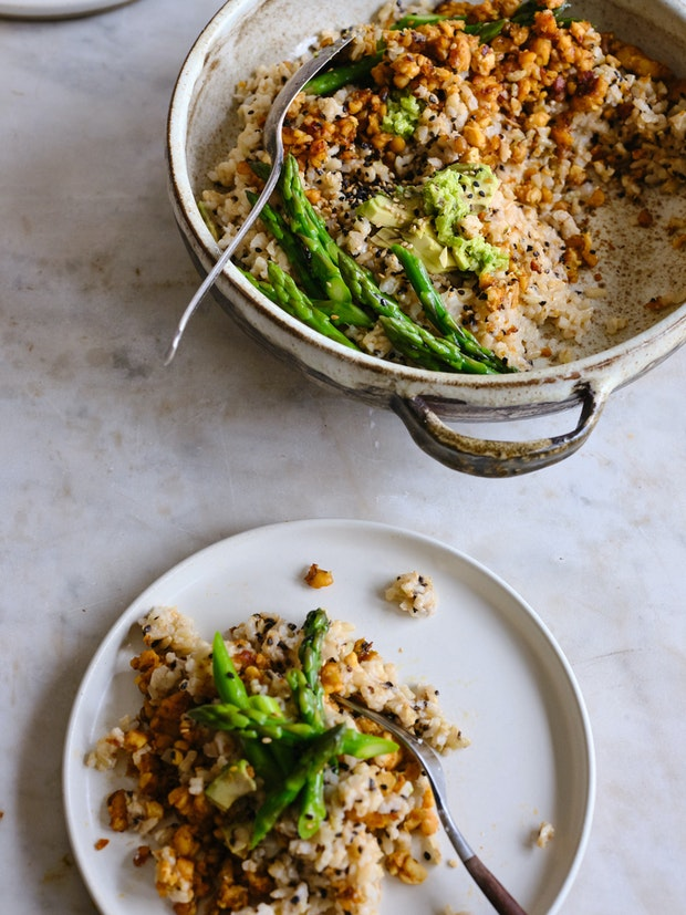 Spicy Sesame Coconut Rice