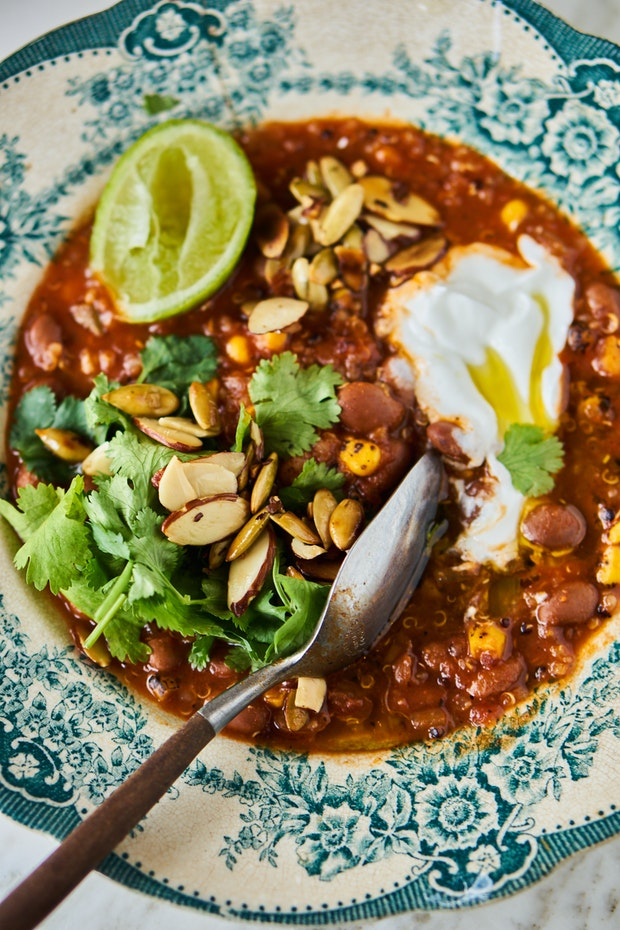 Spicy Instant Pot Taco Soup Recipe