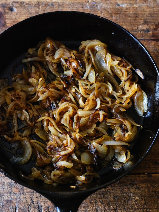 Caramelized Onions for Tomato Tart Recipe