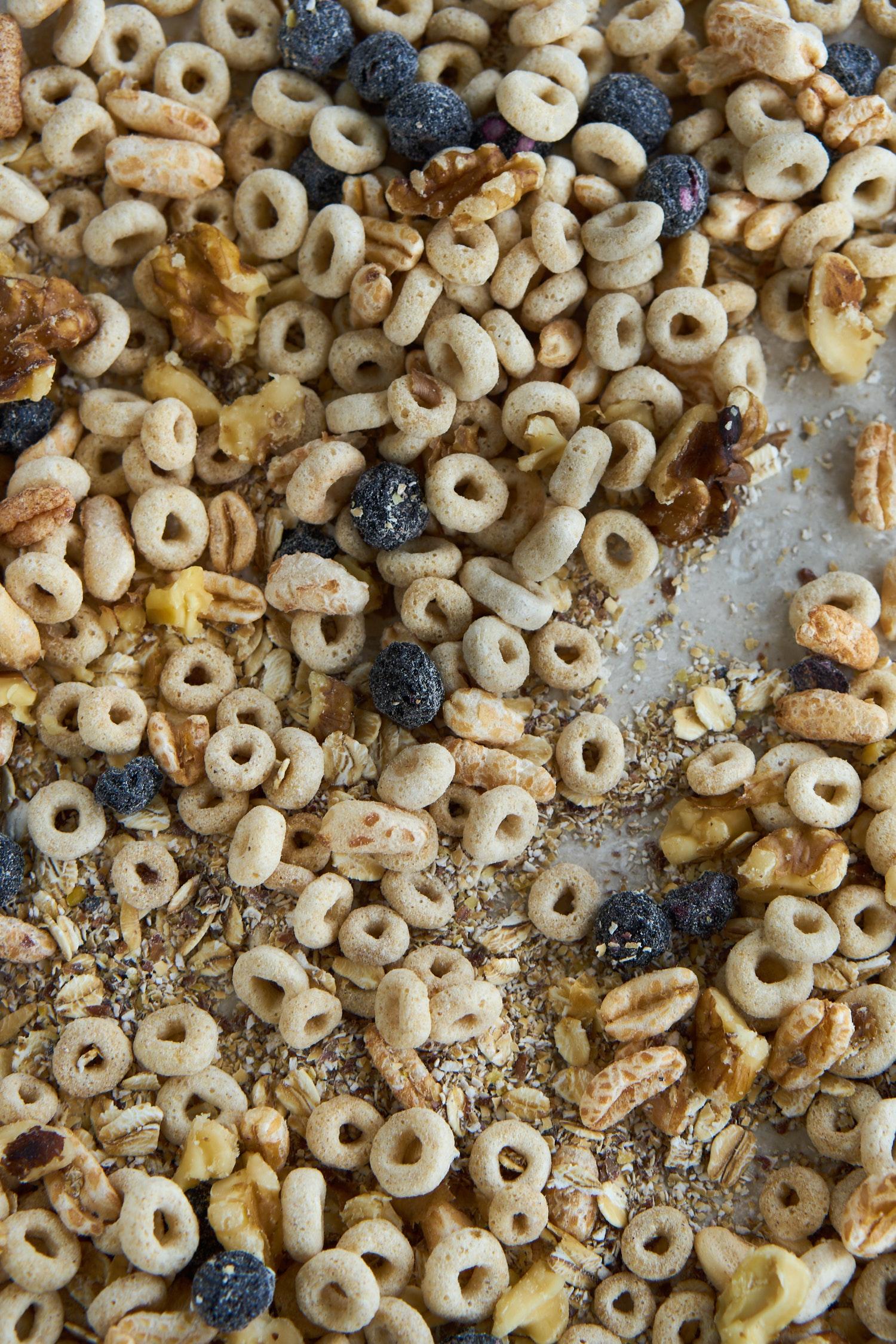 Triple-Oat Breakfast Cereal