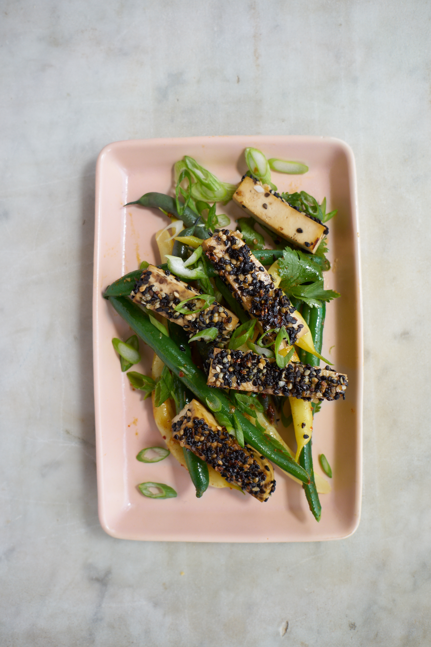 Golden-crusted Sesame Seeded Tofu | 101 Cookbooks