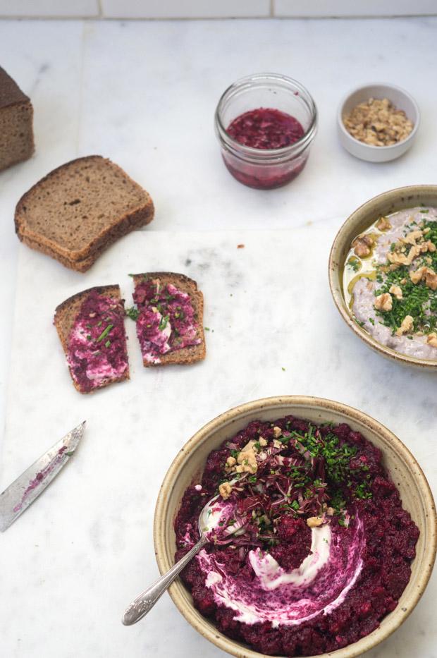 A Vibrant Beet Caviar Recipe