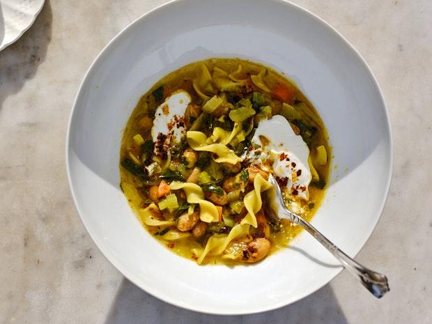 Fire Broth Noodle Soup