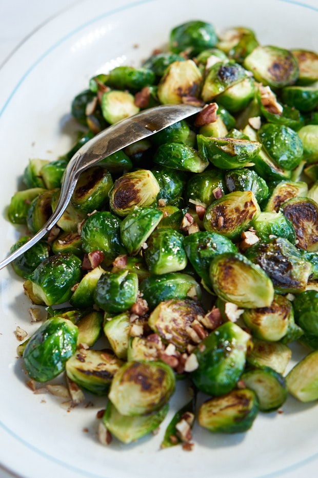 Golden-Crusted Brussels Sprouts – FoodFreaks.org