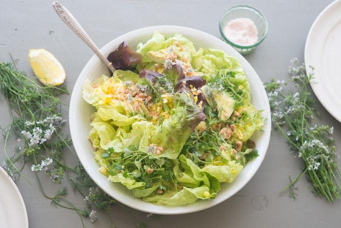 Blue Kale Studio Salad Recipe