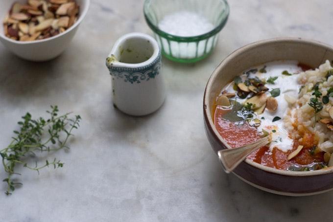 A Simple Tomato Soup Recipe
