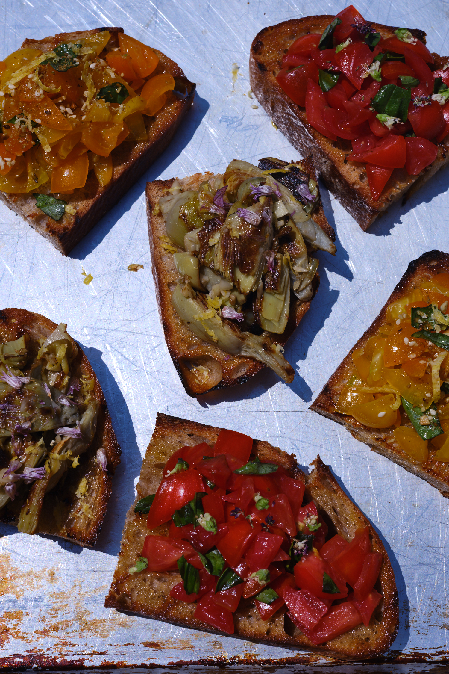 Bruschetta - Three Different Ways